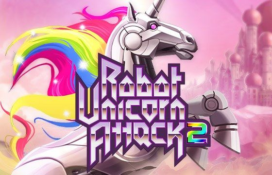 Robot Unicorn Attack 2  More Wishes, More Powers, More Glory