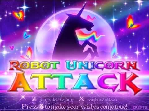 Robot Unicorn Attack Song  Sometimes I Just Feel Like This