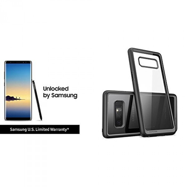 Samsung Galaxy Note8 And Supcase Unicorn Beetle Case