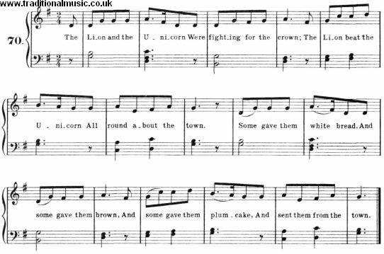 Sheet Music & Lyrics For 100+ Nursery Songs, Rhymes P0144