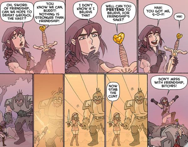 So The Warrior Unicorn Princess Uses The Sword Of Friendship