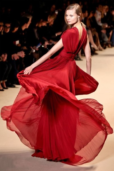 Someday I'm Going To Twirl In My Stunning Red Dress By Elie Saab