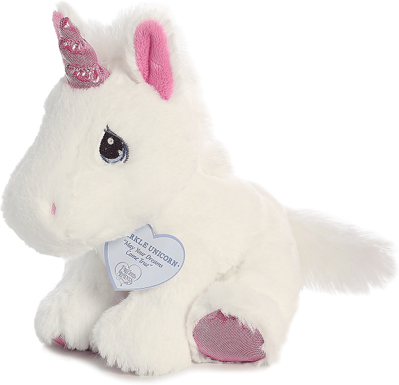 Sparkle Unicorn Precious Moments Stuffed Animal By Aurora
