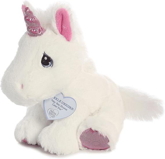 Sparkle Unicorn Precious Moments Stuffed Animal By Aurora