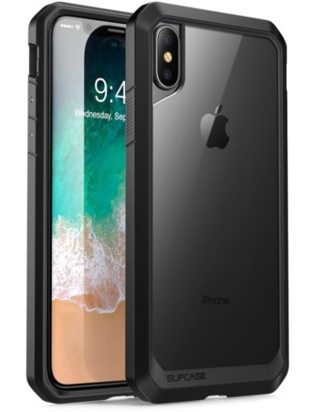 Supcase Unicorn Beetle Clear Case For Iphone X