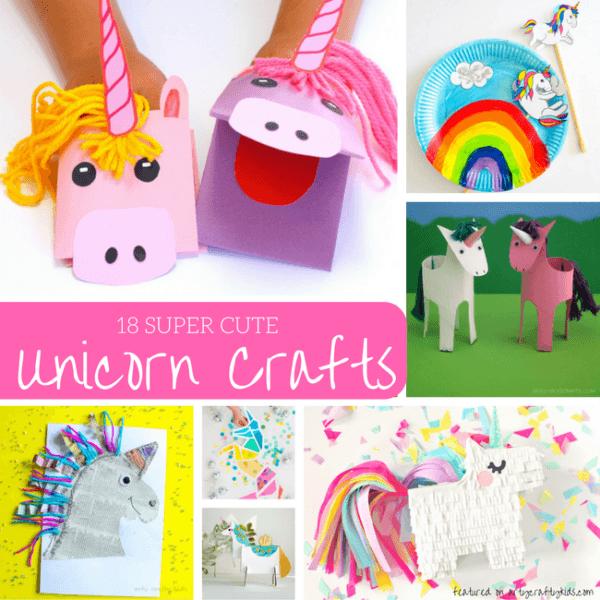 Unicorn Projects For Preschoolers