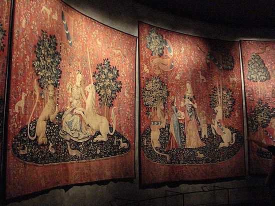 The Unicorn Tapestries At The Cloisters, Ft Tryon Park, New York