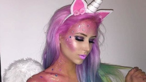This Diy Unicorn Costume Looks Positively Magical!
