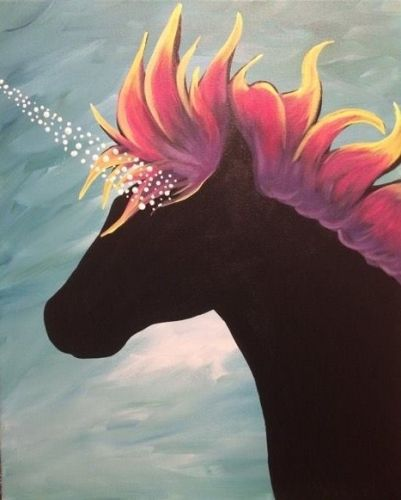 Trending Paintings  Unicorns, Rainbows, And Magic