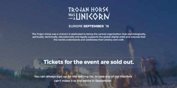 Trojan Horse Was A Unicorn 2016