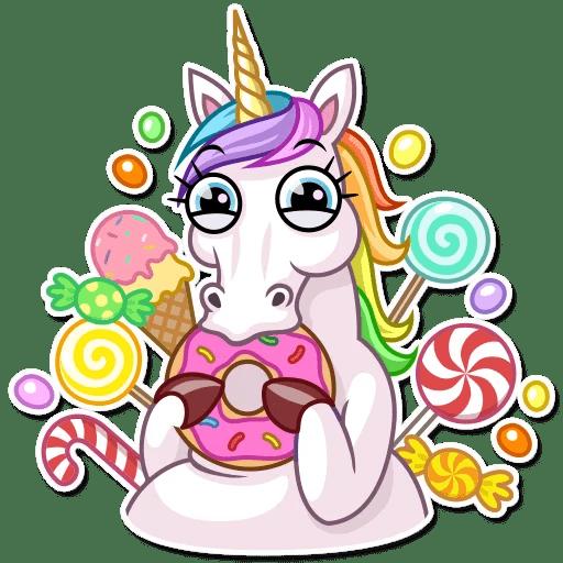 "Unicorn"" Stickers Set For Telegram"