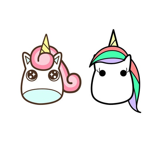 Unicorn Animated Stickers By Appbubbly