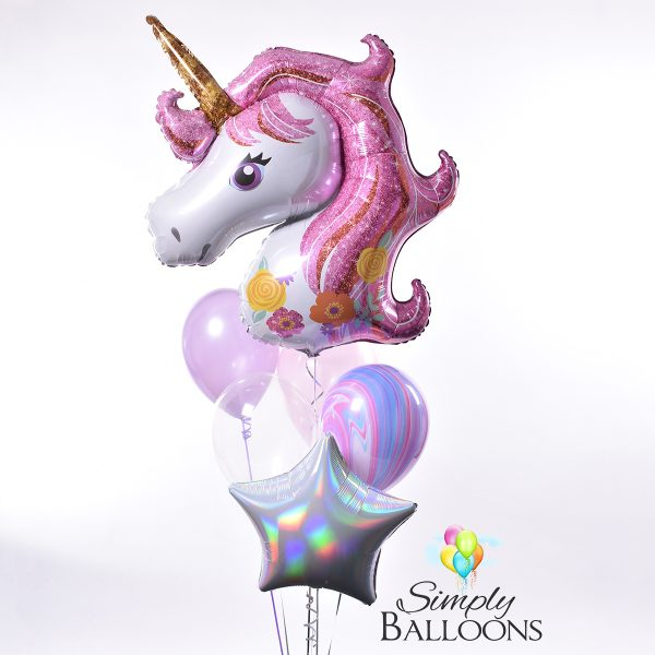 Unicorn Balloon Bouquet ·style One