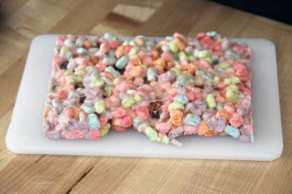 Unicorn Barf, A Colorful Sticky Treat Made From Cereal Marshmallows