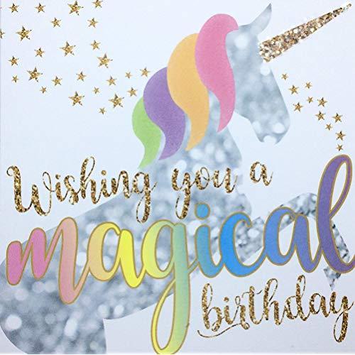 Unicorn Birthday Card  Amazon Co Uk