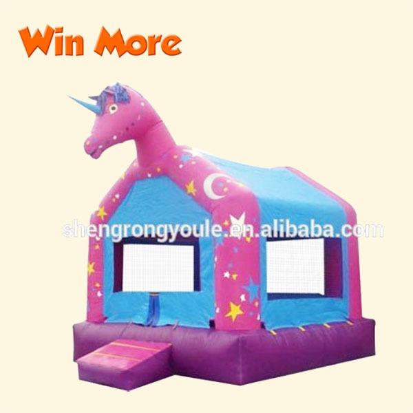 Unicorn Bouncy Castle Inflatable Unicorn Bouncer Jumping Castle