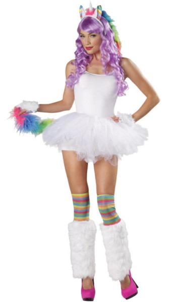 Unicorn Costumes For Adults & Womens Unicorn Fantasy Costume Sc 1