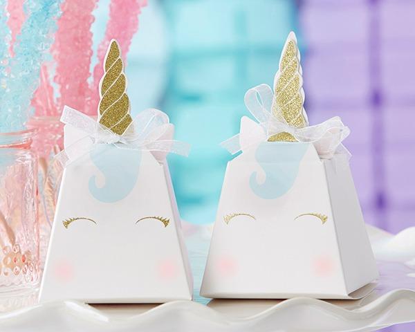 Unicorn Favor Boxes