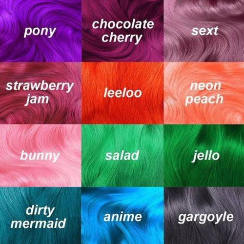Unicorn Hair Color Ideas For 2018!