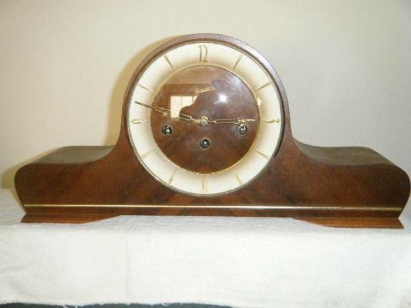 Unicorn Mantel Piece German Clock Antique Vintage