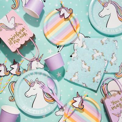 Unicorn Paper Straws