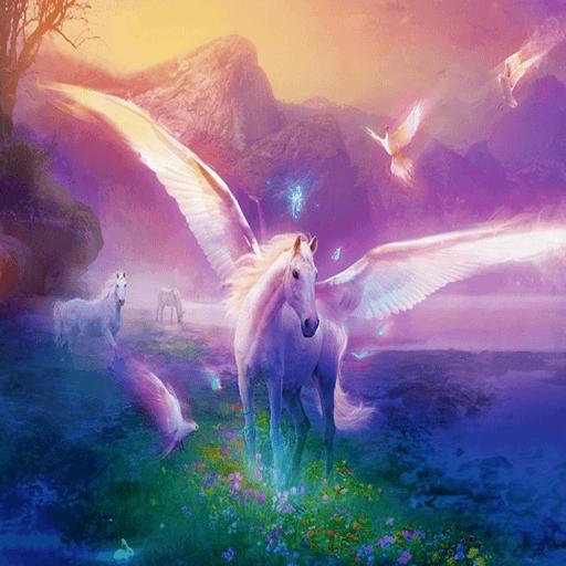 Unicorn Pegasus Live Wallpaper Free  Amazon Co Uk  Appstore For
