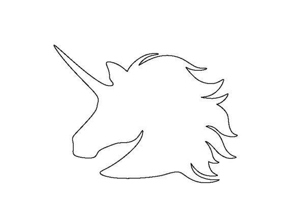 Unicorn Pumpkin Carving Templates Printables