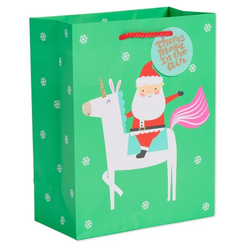 Unicorn Santa Clause Mint
