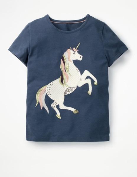 Unicorn Sequin T