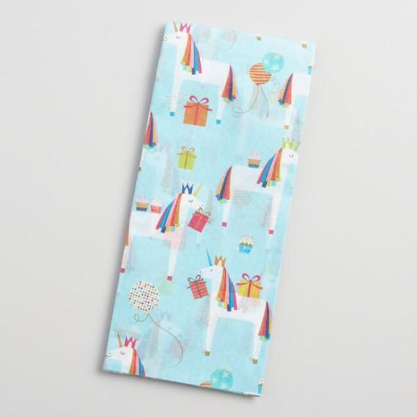 Unicorn Tissue Paper Set Of 2