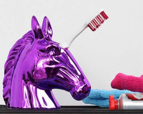 Unicorn Toothbrush Holder