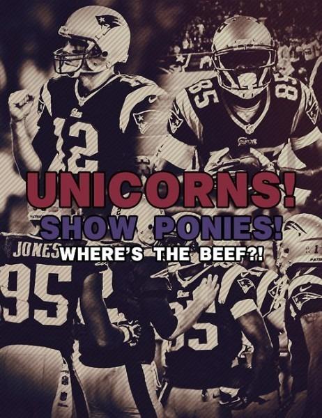 Unicorns! Show Ponies! Where's The Beef !!