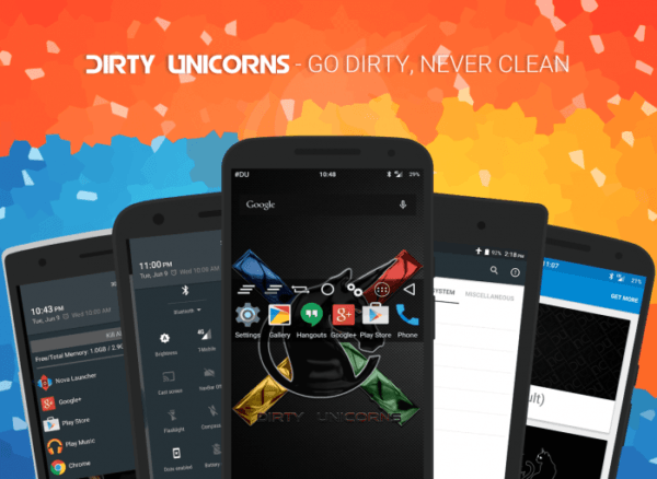 Update Nexus 7 (2012) To Android 7 1 1 Dirty Unicorn Nougat Custom
