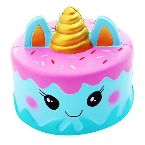 Vigeiya Squishies Unicorn Cake Slow Rising Prime Squishy Toy Jumbo