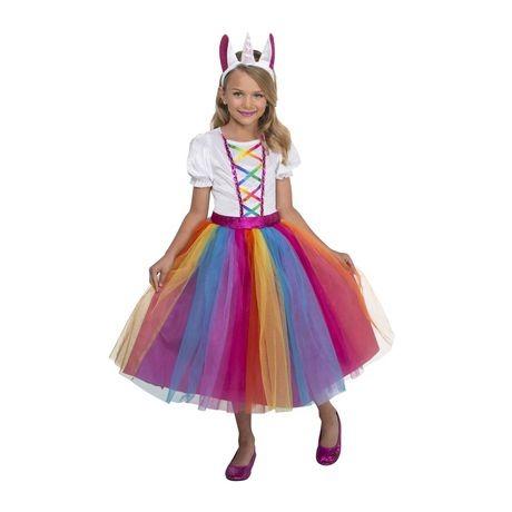 Walmart Halloween Girls' Dashing Unicorn Costume