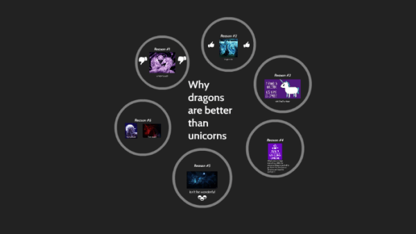 Why Dragons Are Better Than Unicorns By Lili Collier On Prezi
