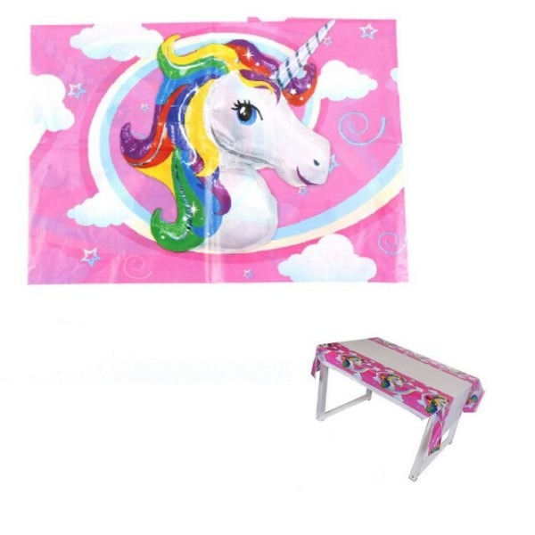 1pcs Lot Unicorn Tablecloths Kids Birthday Party Supplies Unicorn
