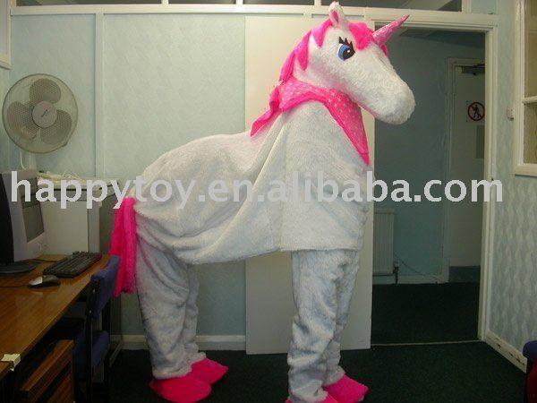 2010 Hi 2 Person Unicorn Costume Character Costume