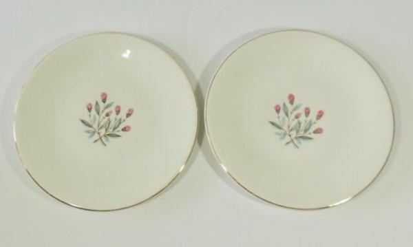 2 Wedgwood & Co Ltd Unicorn Backstamp Pink Hope Flower Desert