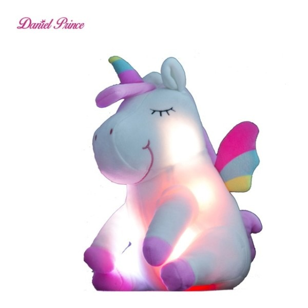 30cm Led Unicorn Plush Toys Plush Light Up Toys Stuffed Animals