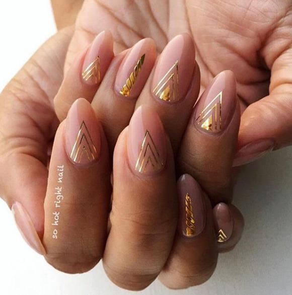 40 Super Trendy Cuticle Nail Art Ideas