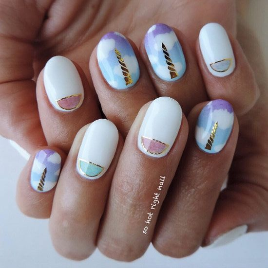 42 Super Cute And Easy Nail Designs
