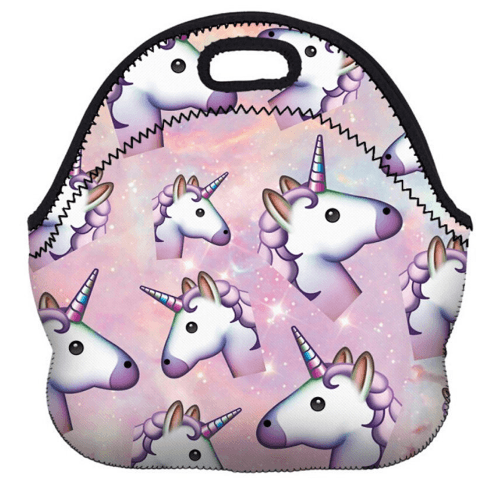 Amazon  Insulated Unicorn Lunch Bag Only $4 42 Shipped