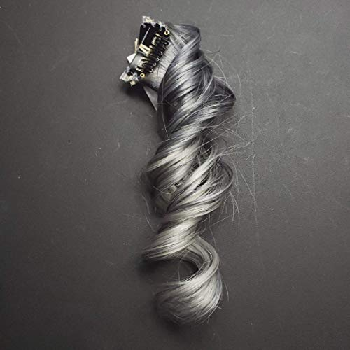 Amazon Com  10  Chrome Silver To Ash Silver Ombre Highlights Clip