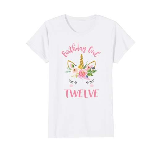 Amazon Com  12th Birthday Unicorn Shirts For Girls  Clothing