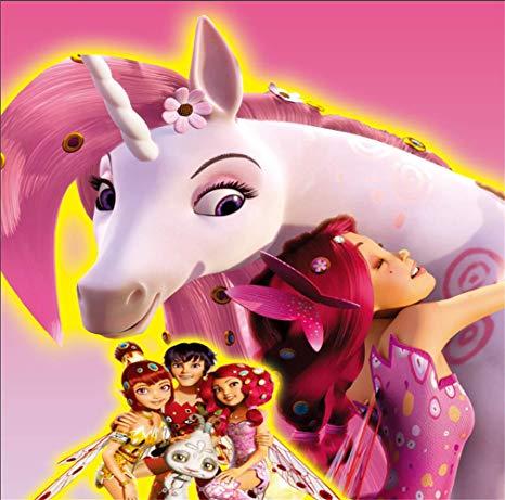 Amazon Com   Mia And Me Unicorn Lyria Pink Wall Custom Photo