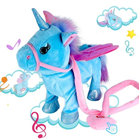 Amazon Com  Alpacasso Musical Unicorn Toys, Singing And Walking