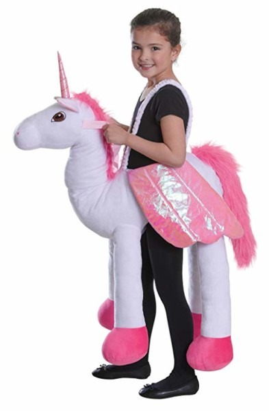 Amazon Com  Bristol Novelty Cc043 Riding Unicorn Costume, Pink