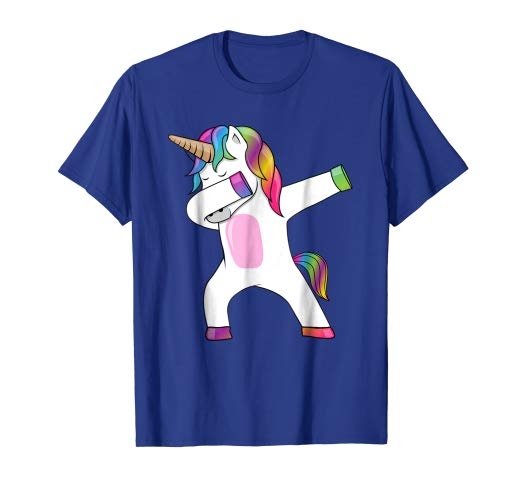 Amazon Com  Dabbing Unicorn T