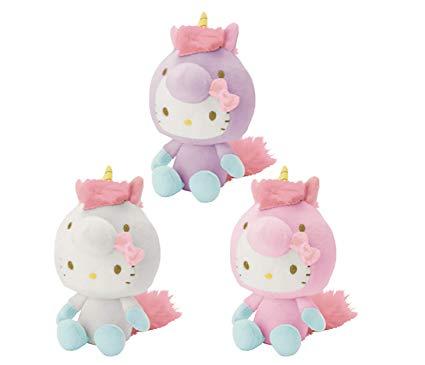 Amazon Com  Hello Kitty Sanrio Magical Unicorn Plush Toy 6